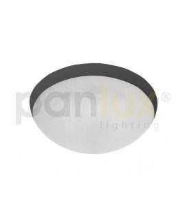 GALIA přisazené stropní a nástěnné kruhové svítidlo 2x9W G23, černá