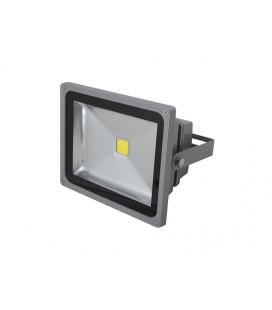 LEDMED COB LED VANA venkovní reflektorové svítidlo, aluminium - neutrální  50W
