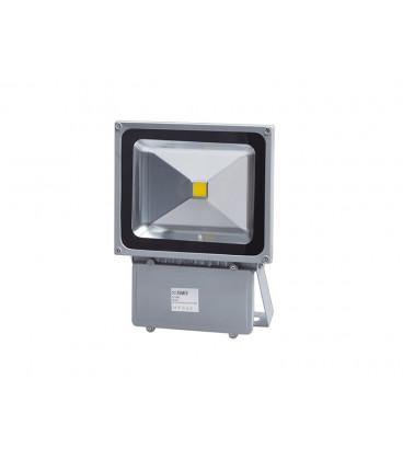 LEDMED COB LED VANA venkovní reflektorové svítidlo, aluminium - neutrální  100W