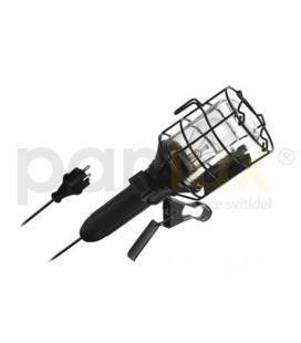 PRACTIC CLIP přenosné montážní svítidlo s mřížkou 100W 230V