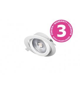 PANLUX VP COB výklopný LED podhled / bodovka  6W, bílá - teplá bílá