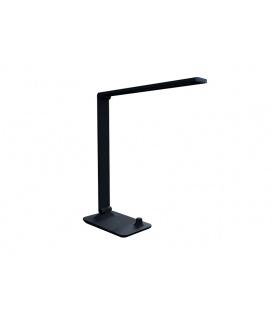MASTER LED stolní lampička s bezdrátovým nabíjením  černá