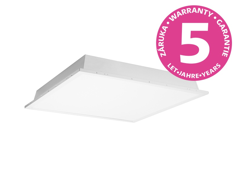 LED PANEL hranatý vestavný  čtvercový 50W - neutrální