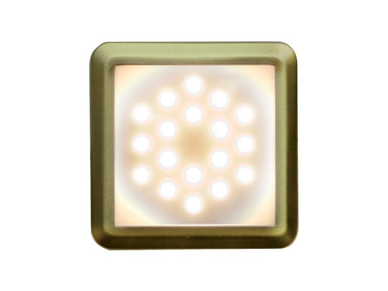 DEKORA 2 dekorativní LED svítidlo  zlatá - teplá bílá