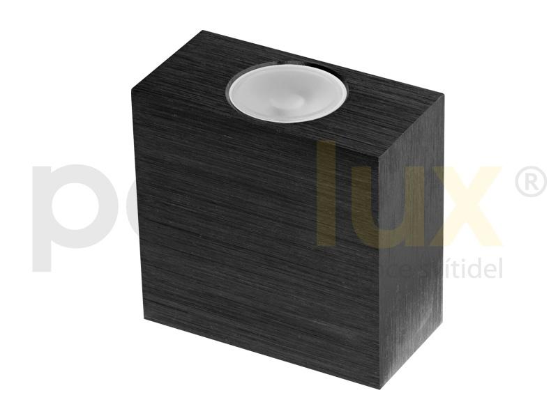 VARIO dekorativní LED svítidlo  černá (aluminium) - teplá bílá