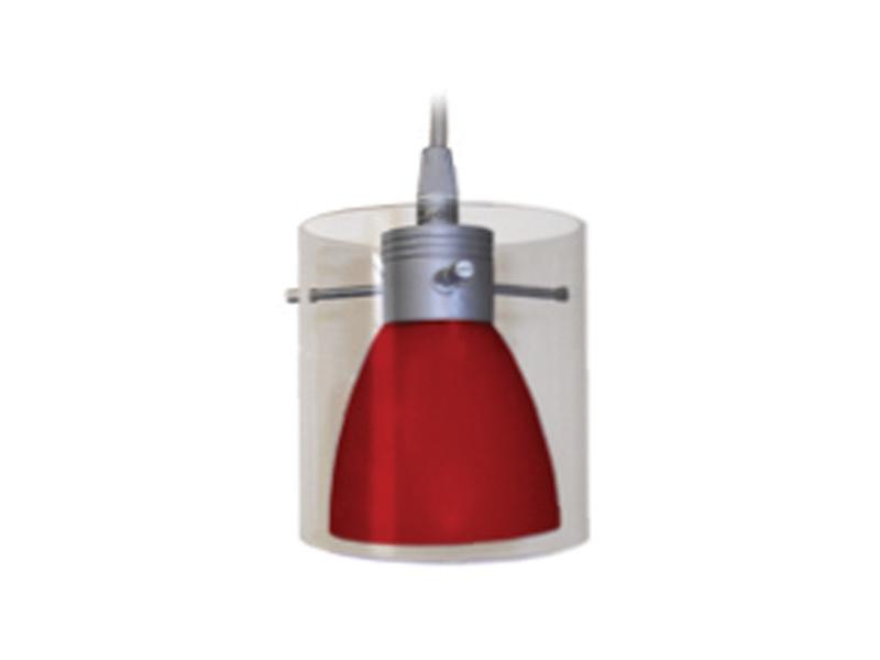 FARAO lištové svítidlo  červená