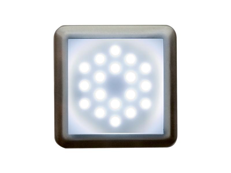 DEKORA 2 dekorativní LED svítidlo  nerez - studená bílá