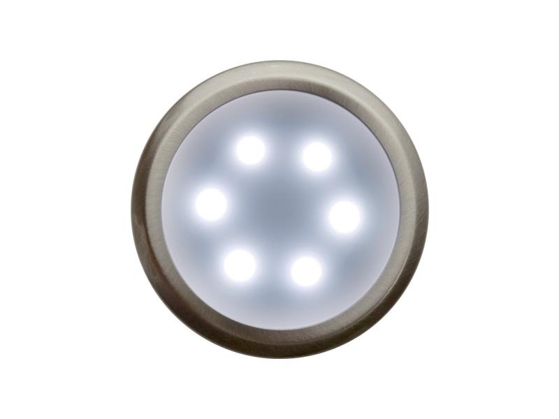 DEKORA 3 dekorativní LED svítidlo  nerez - studená bílá