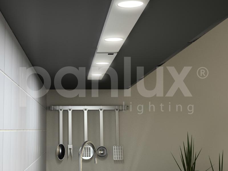 DAERON nábytkové svítidlo  3x24LED - teplá bílá