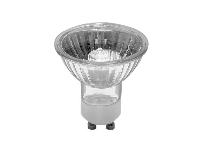 DICHROICKÝ HALOGEN světelný zdroj GU10 230V  20W, úhel vyzařování světla 60°