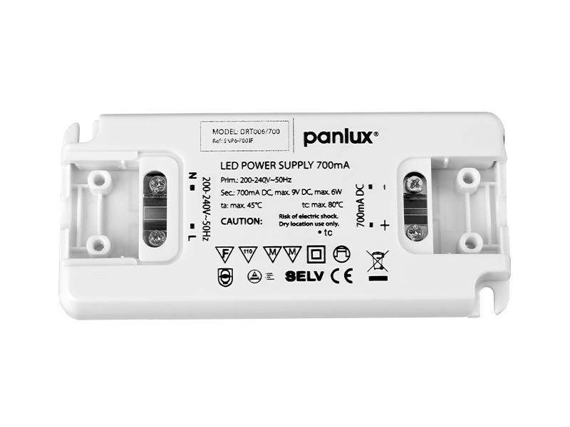 PANLUX LED DRIVER TENKÝ 6W  700mA