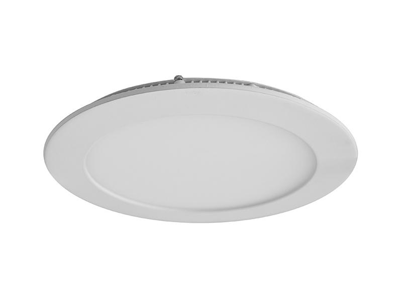 LEDMED LED DOWNLIGHT THIN vestavné kulaté LED svítidlo  kulatý, 12W 3000K - teplá bílá