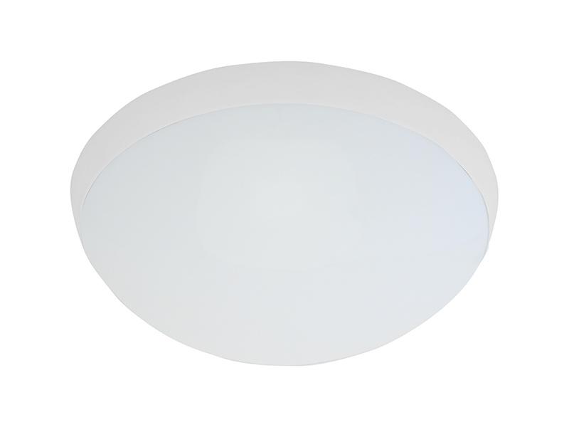 GALIA MAT přisazené stropní a nástěnné kruhové svítidlo  75W E27, bílá, mat