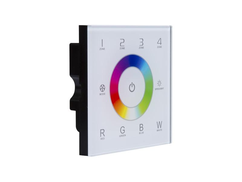 PANLUX BEZDRÁTOVÝ OVLADAČ nástěnný 4 zone  RGB/RGBW