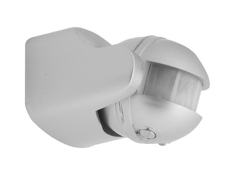 PANLUX SENSOR PIR pohybové čidlo 180°  stříbrná