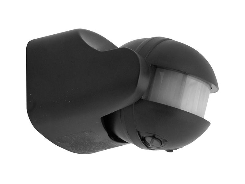 PANLUX SENSOR PIR pohybové čidlo  180°  černá