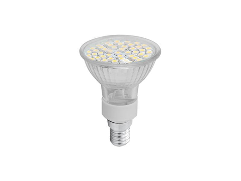 LEDMED SMD 48LED světelný zdroj 230V 2,5W  E14 - teplá bílá