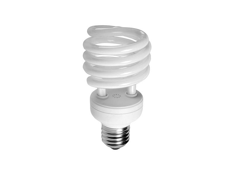 SPIRÁLA světelný zdroj 230V E27  15W - studená bílá