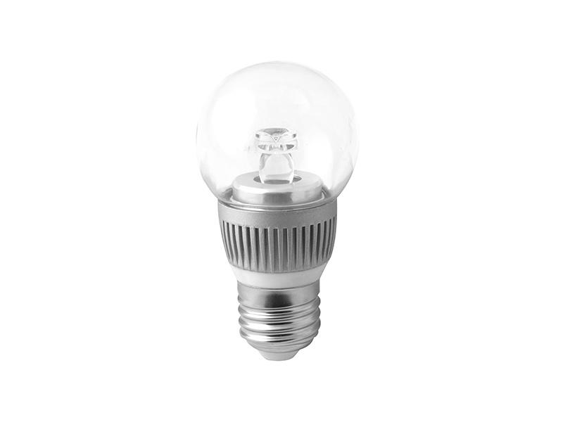 BALL LED světelný zdroj 230V 3,5W  E27, teplá bílá
