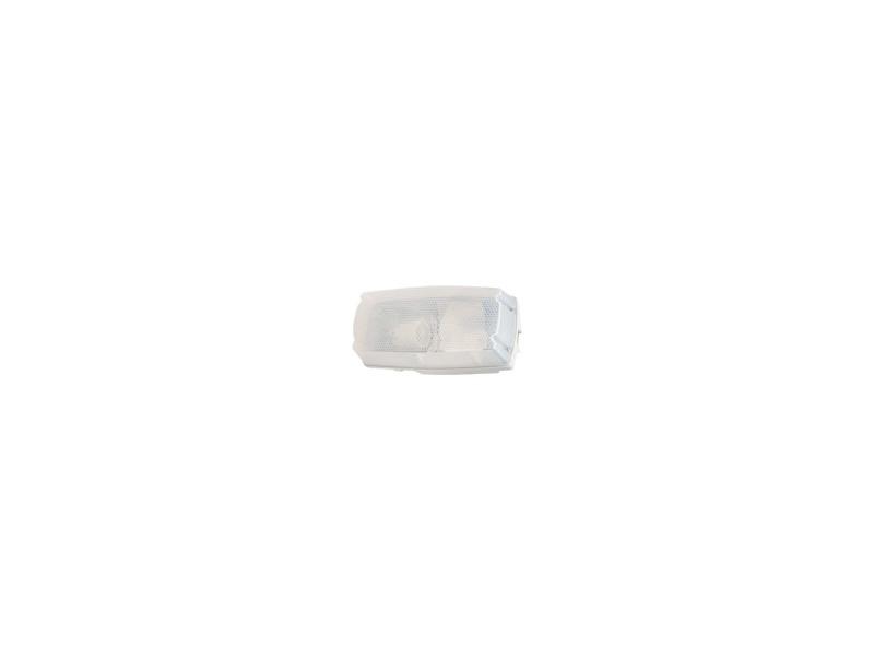 BRICK přisazené stropní a nástěnné plastové svítidlo 60W