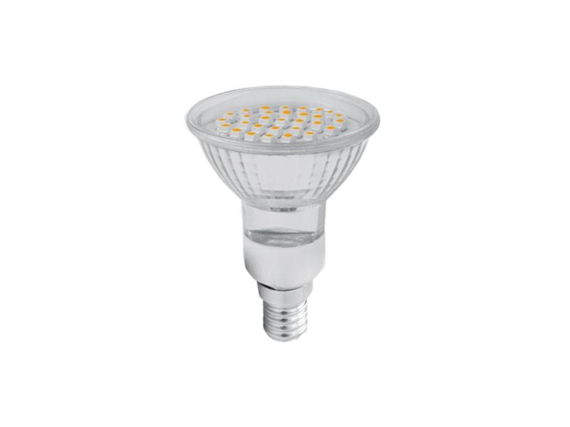 SMD 30LED světelný zdroj  230V 2W E14 - studená bílá