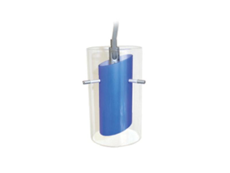 TUBO nastavitelné lištové svítidlo, modrá