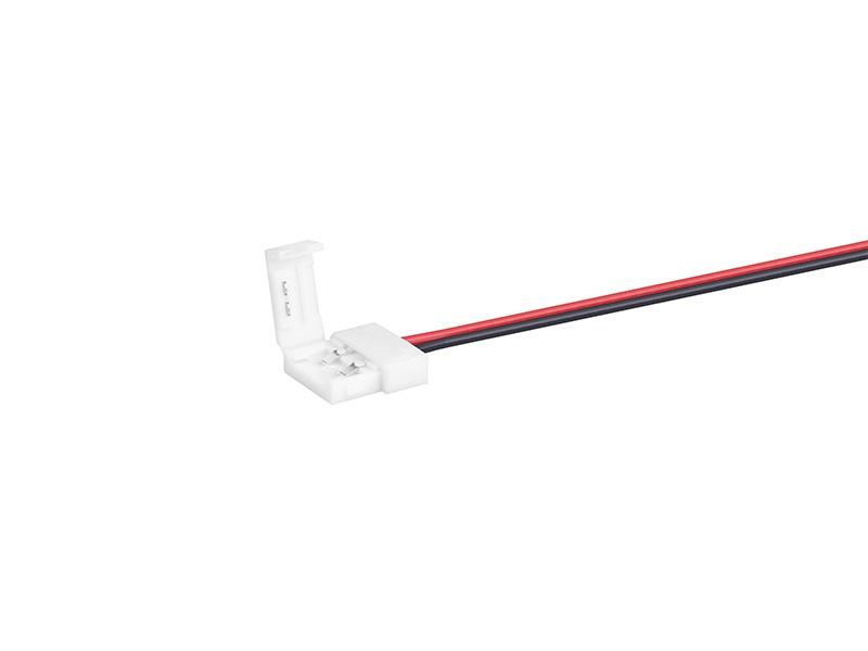 PŘÍVOD napájení pro LED pásky 10 mm, jedna barva
