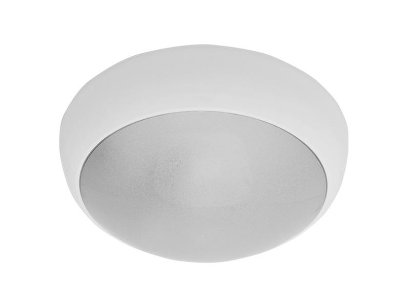 JUPITER MAT přisazené stropní a nástěnné kruhové svítidlo  28W E27, bílá, mat
