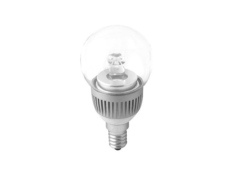 BALL LED světelný zdroj 230V 3W  E14, studená bílá
