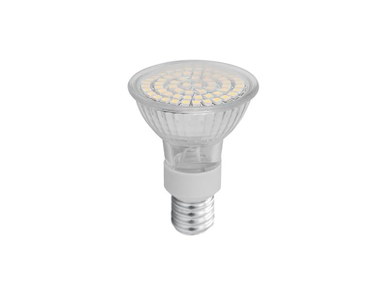 LEDMED SMD 60LED světelný zdroj 230V 3,5W  E14 - teplá bílá
