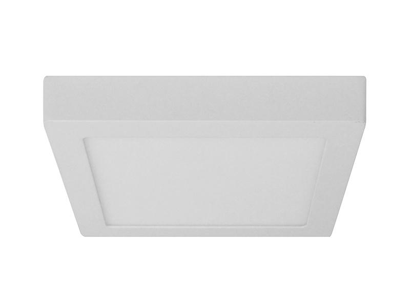 LEDMED LED DOWNLIGHT MOUNTED přisazené hranaté LED svítidlo  hranatý, 24W 3000K - teplá bílá