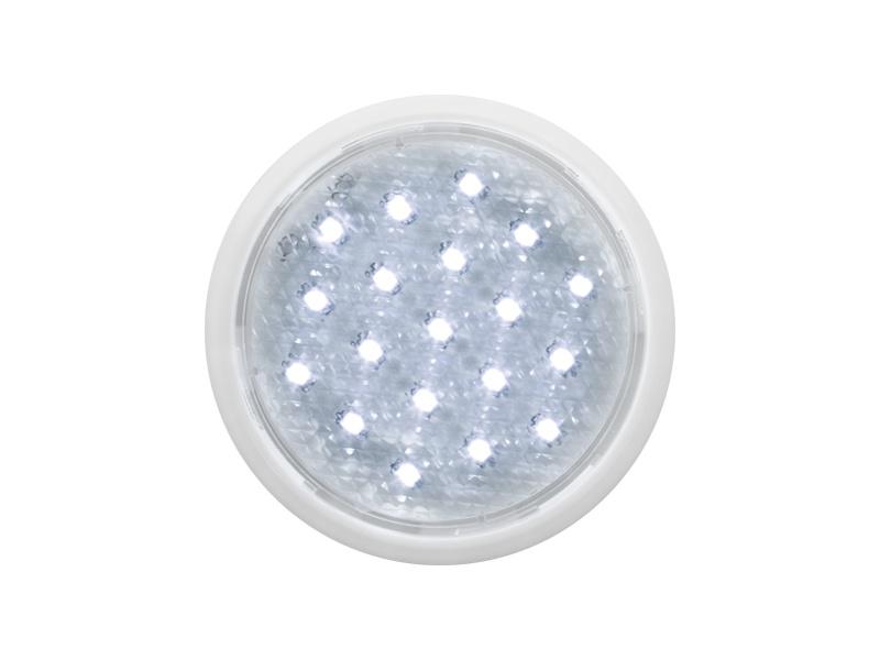 DEKORA 1 dekorativní LED svítidlo, bílá  studená bílá