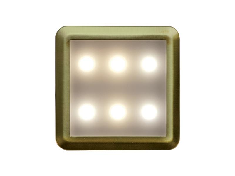 DEKORA 4 dekorativní LED svítidlo  zlatá - teplá bílá