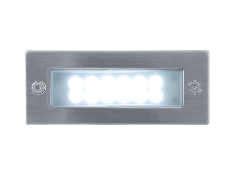 INDEX 12 LED venkovní vestavné svítidlo  studená bílá