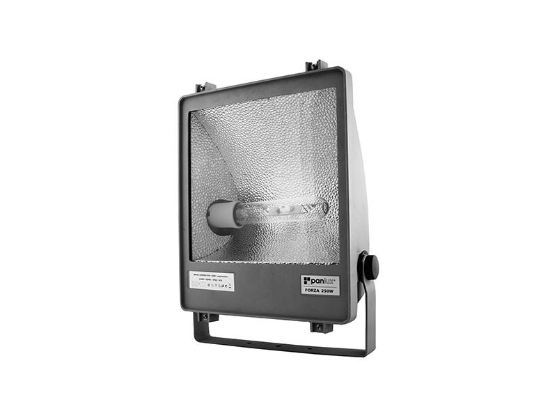 FORZA DS metalhalogenový světlomet 250W asymetrický  250 W, stříbrná