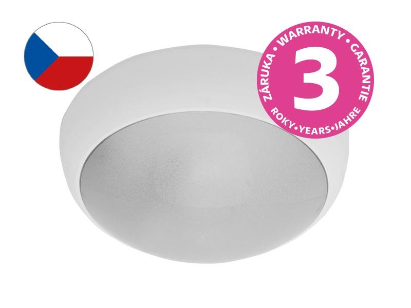 JUPITER přisazené stropní a nástěnné kruhové svítidlo  60W E27, bílá