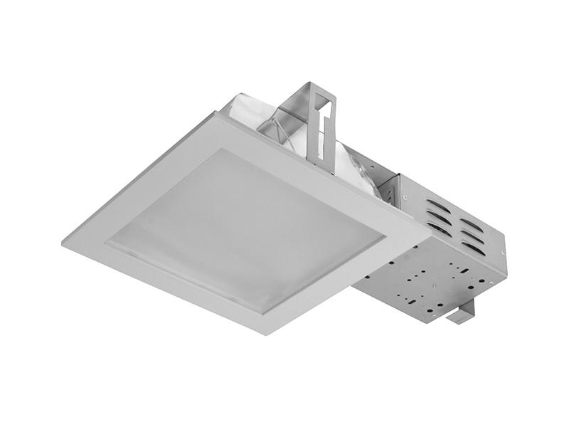 DOWNLIGHT DWH EVG 2x18W zářivkové podhledové svítidlo  2x18W, stříbrná