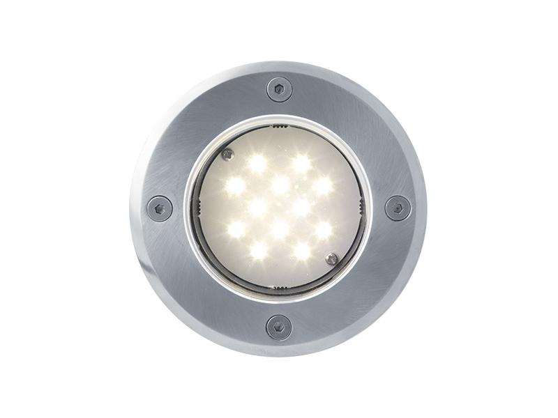 ROAD venkovní pojezdové svítidlo 12LED 12V  teplá bílá