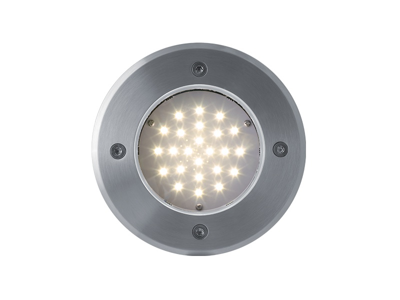ROAD venkovní pojezdové svítidlo 24LED 12V  teplá bílá