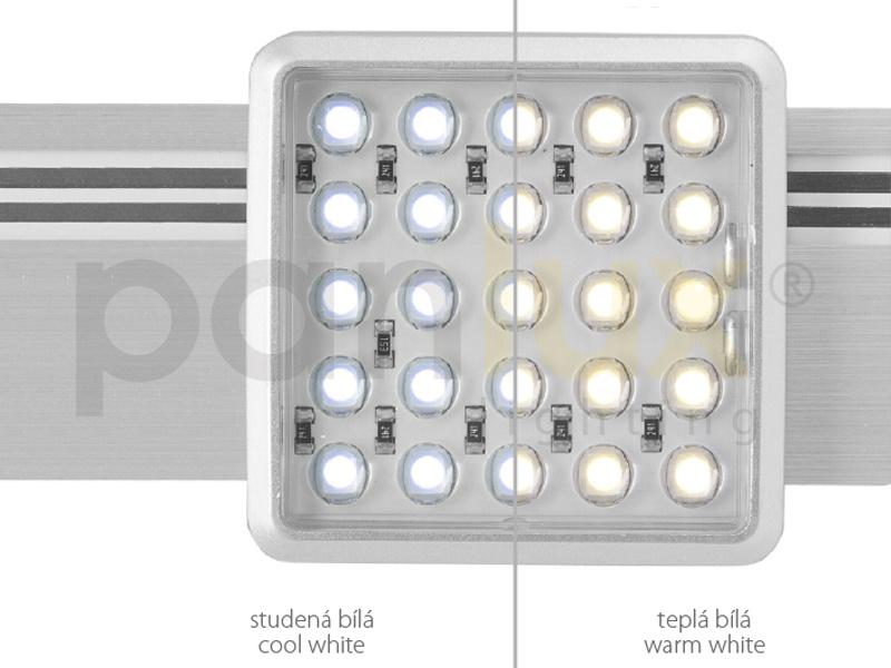 MAYOR SET nábytkové svítidlo  2x25LED SET - studená bílá