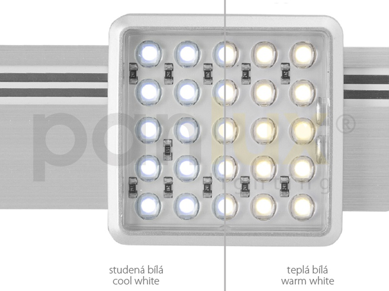 MAYOR SET nábytkové svítidlo  2x25LED SET - teplá bílá