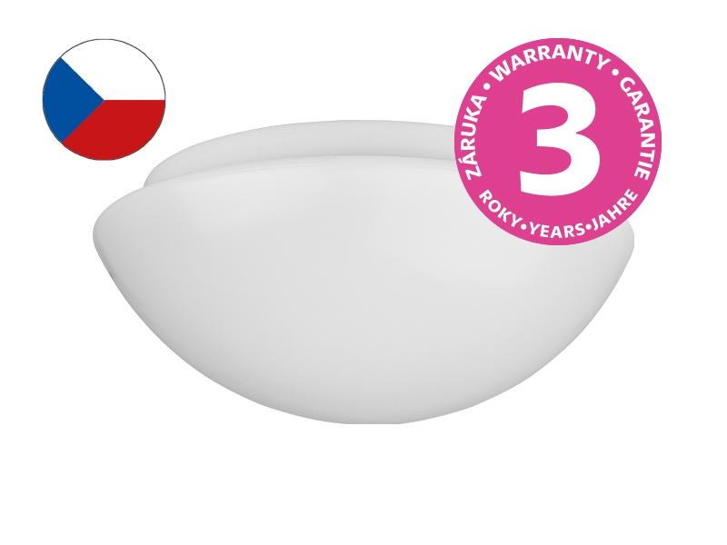 PANLUX PLAFONIERA PLAST 260 přisazené stropní a nástěnné svítidlo  S SWITCH LED - teplá bílá