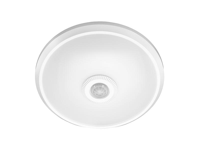 LEDMED EMMA přisazené stropní a nástěnné kruhové LED svítidlo se senzorem 12W - neutrální