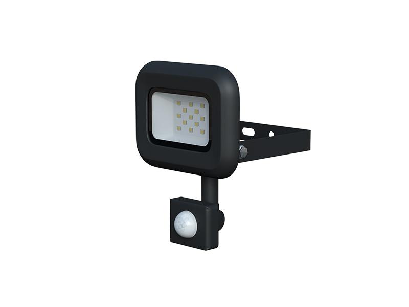LEDMED VANA SMD S LED reflektor se senzorem 10W černá
