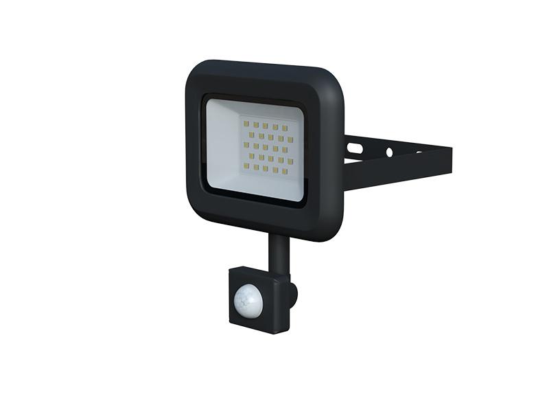 LEDMED VANA SMD S LED reflektor se senzorem 20W černá