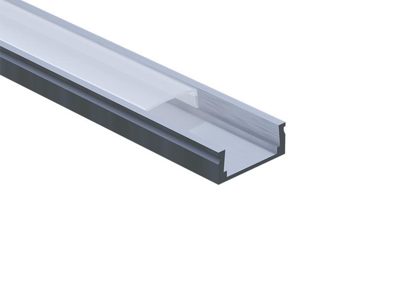 PANLUX ALU PROFIL 10mm přisazený  délka 1m