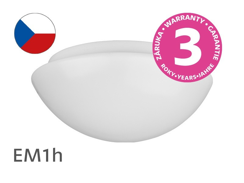 Plafoniere Led Per Alte Temperature : Plafoniera led surface luminaire with emergency module warm